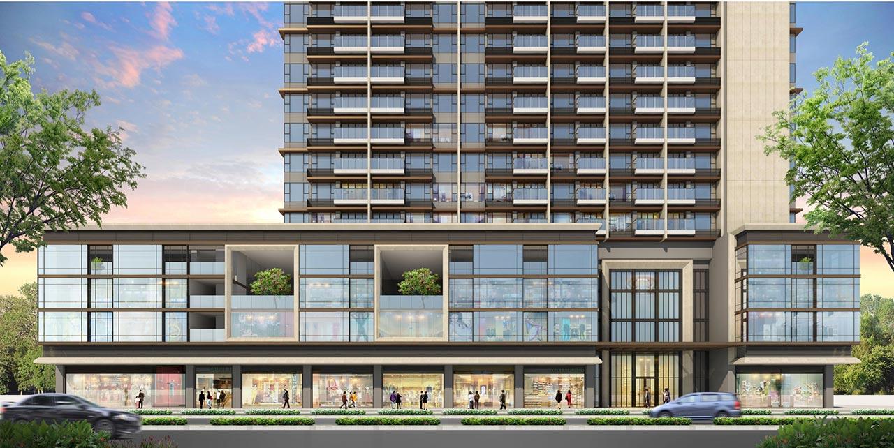Căn hộ Shophouse The Riverin Thủ Thiêm do DP architects thiết kế