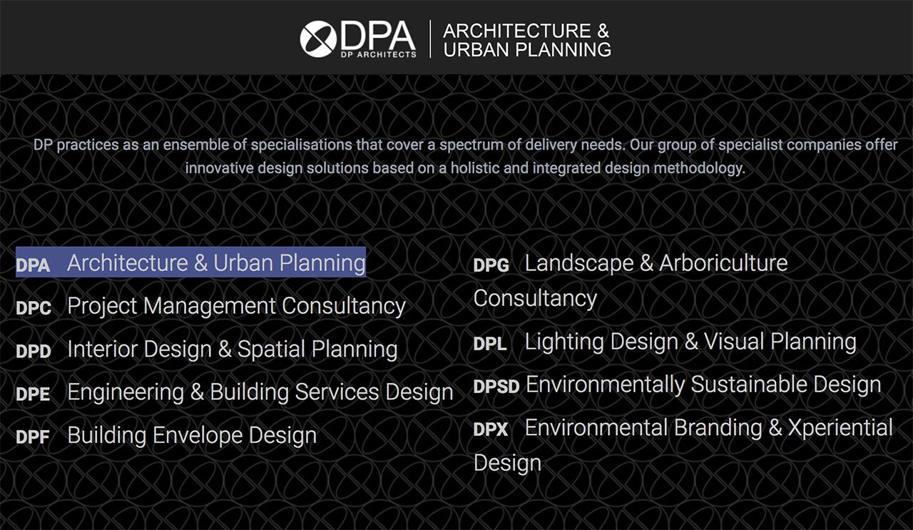 Service of DP Architects