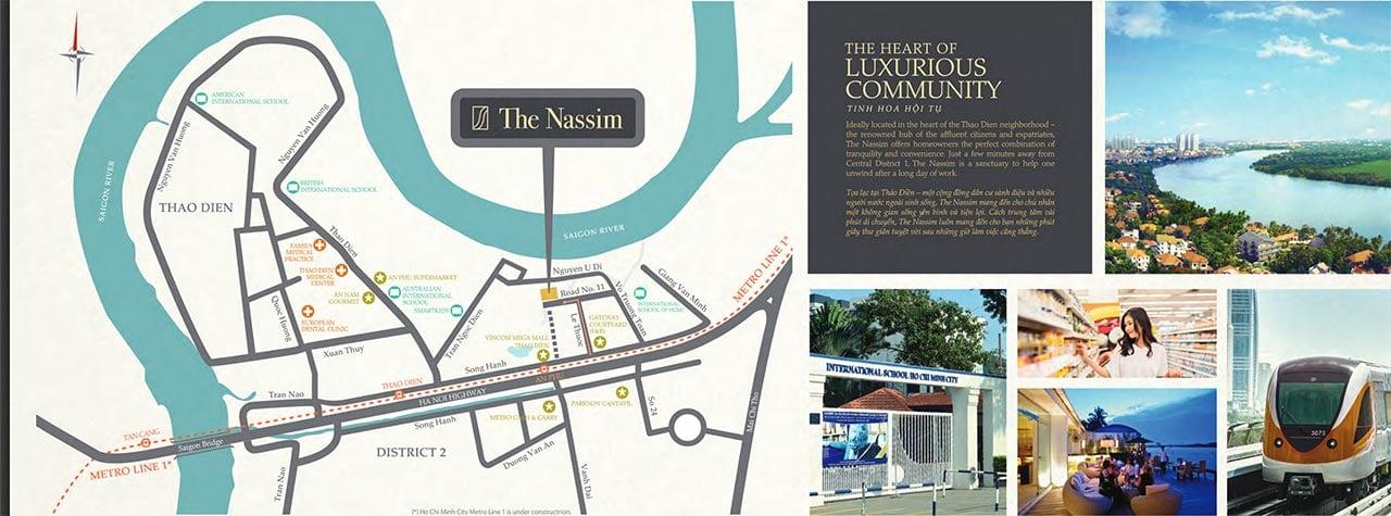 Vị trí dự án Nassim Thảo Điền nằm Quận 2 phải không?
