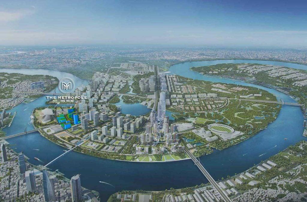 Vị trí Dự án The Metropole Thủ Thiêm nằm ở đâu?