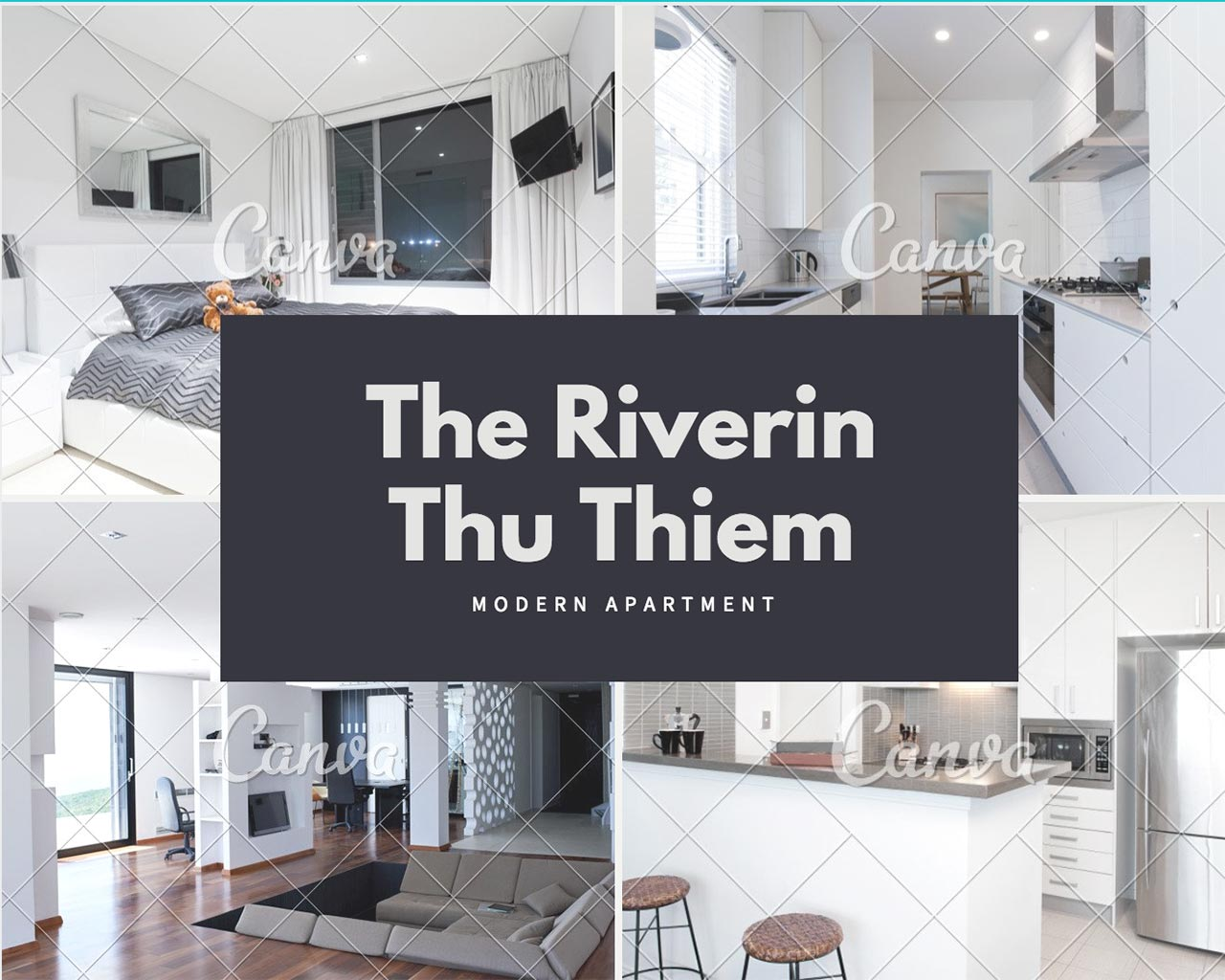 The Riverin apartment district 2