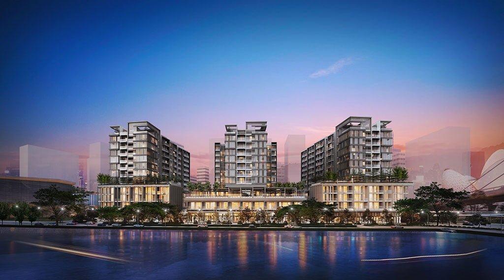 Hướng nhìn của các căn hộ Penthouse The Metropole Thủ Thiêm
