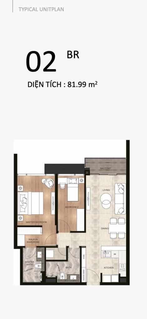 The River Thu Thiem apartment 2 bedrooms