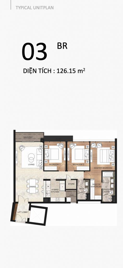 The River Thu Thiem apartment 3 bedrooms