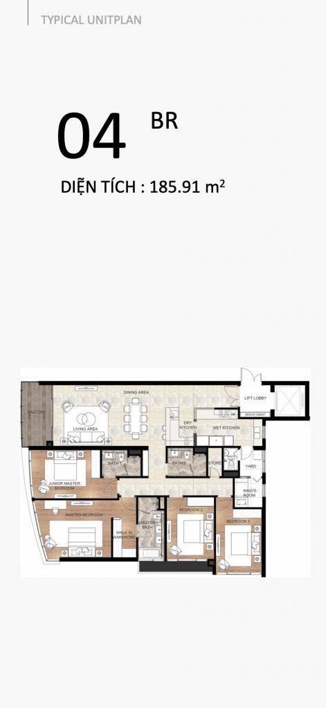 The River Thu Thiem apartment 4 bedrooms